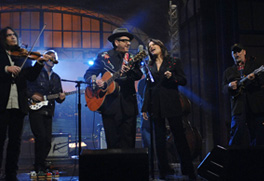 Elvis Costello and Roseanne Cash on David Letterman