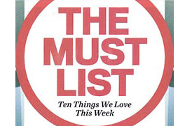 "Harry Smith Project featured in Entertainment Weekly's ""The Must List"""
